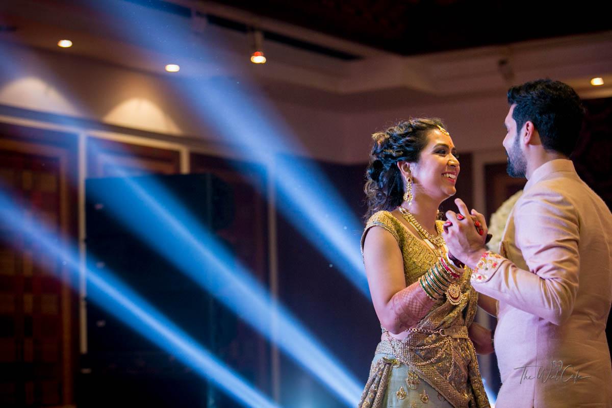 Couple Dance on Sangeet