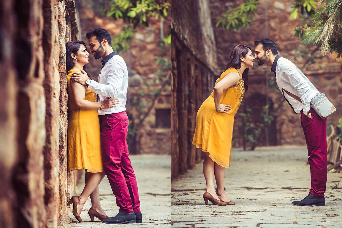 Hauz Khas village - pre wedding photoshoot