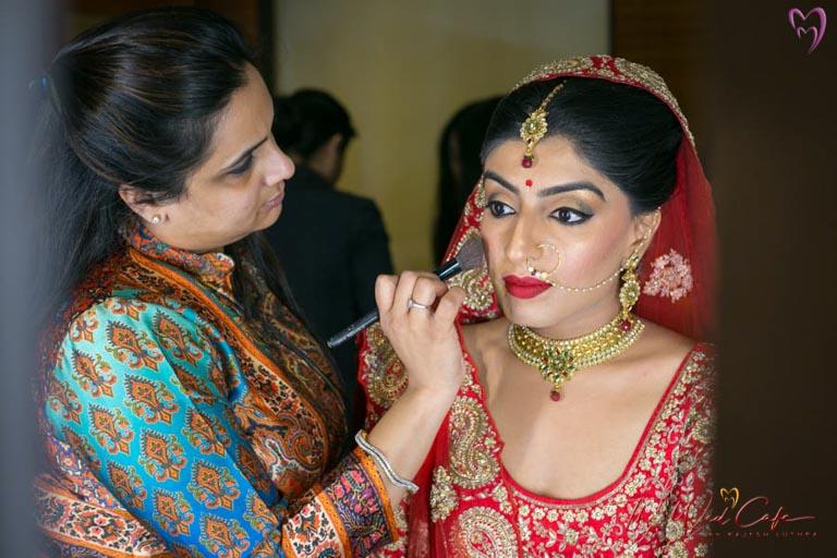 makeup wedding photoshoot